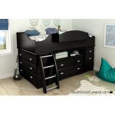 Imagine Twin Loft Bed Customizable Bedroom Set
