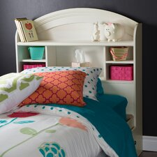 Country Poetry Bookcase Headboard