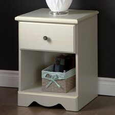 Country Poetry 1 Drawer Nightstand