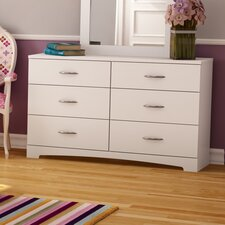 Step One 6 Drawer Double Dresser