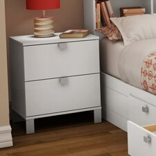 Sparkling 2 Drawer Nightstand