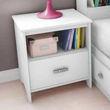 Tiara 1 Drawer Nightstand
