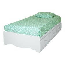 Crystal Twin Mate's Bed with Storage