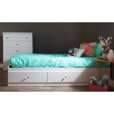 Crystal Twin Mates Bed with 1 Duvet Cover and Pillowcase