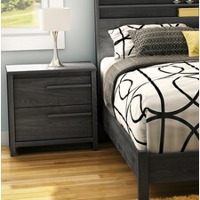 Tao 2 Drawer Nightstand