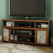 """City Life Corner TV Stand for TVs Up to 50"""""""