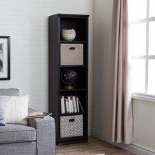 Morgan 5 Shelf Narrow Bookcase