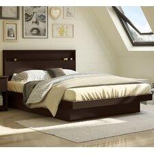 Queen Upholstered Platform Bed