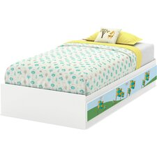 Andy Twin Mate's Bed with Storage