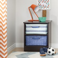 Libra Nightstand with Baskets