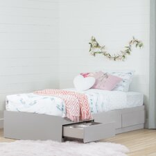 Reevo Twin Mate's Bed with 3 Drawer