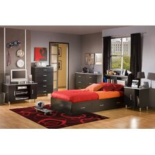 Lexington Twin Platform Customizable Bedroom Set