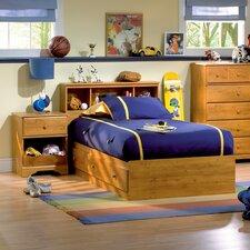 Amesbury Twin Platform Customizable Bedroom Set