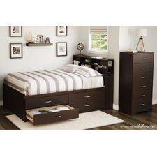 Step One Full Platform Customizable Bedroom Set