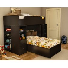 Logik Twin over Twin L-Shaped Bunk Bed