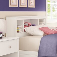 Litchi Twin Bookcase Headboard