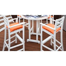 Monterey Bay Bar Stool with Cushion (Set of 2)