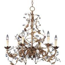 Elegante 6-Light Chandelier