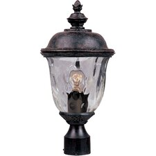 Carriage House DC 1 Light Outdoor Post Light