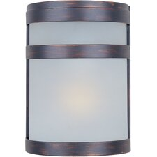 Arc 1 Light Outdoor Flush Mount