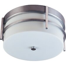 Luna 2 Light Outdoor Flush Mount