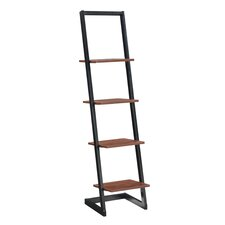 """Designs2Go 66.14"""" Leaning Bookcase"""