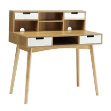 Oslo Writing Desk with Hutch