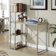 Designs2Go Writing Desk with Bookcase