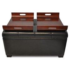Designs 4 Comfort Double Tray Storage Ottoman