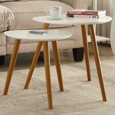 Oslo 2 Piece Nesting Table Set