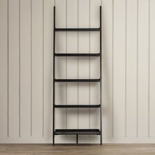 "American Heritage 72"" Leaning Bookcase"