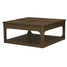 Facet Coffee Table with Lift Top