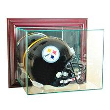 Wall Mounted Football Helmet Display Case