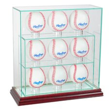 9 Upright Baseball Display Case