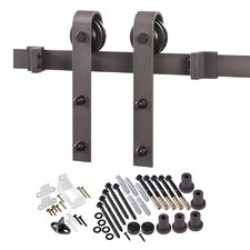 Bent Strap Sliding Barn Door Hardware