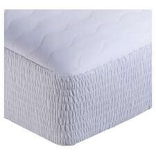 Cotton & Polyester Blend Mattress Pad