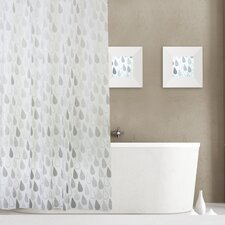 Raindrops 13 Piece Shower Curtain Set