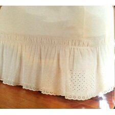 Eyelet Wrap Around Bed Skirt