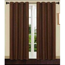 Gloria 8 Grommets Single Window Curtain Panel