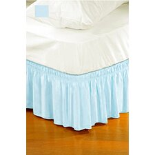 Solid Ruffle Bed Skirt