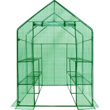 Deluxe Walk-In Learn 4.5 Ft. W x 4.5 Ft. D Greenhouse