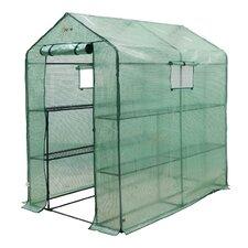 Ft. W x 6 Ft. D Greenhouse