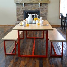 Port 3 Piece Dining Set