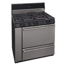 3.91 Cu. Ft. Gas Convection Range in Stainless Steel