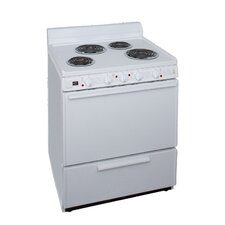 3.91 Cu.Ft. Electric Convection Range in White