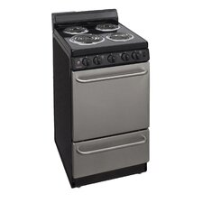 2.42 Cu. Ft. Electric Convection Range in Stainless Steel