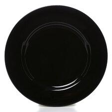 """Black Rim 10.25"""" Dinner Plate (Set of 6)"""