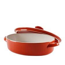 Sienna Oval Bakeware with Lid