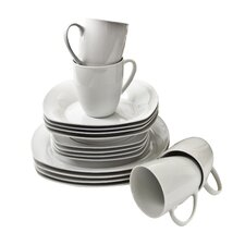 Simply Square 16 Piece Dinnerware Set