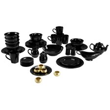 Nova Round Beaded 45 Piece Dinnerware Set